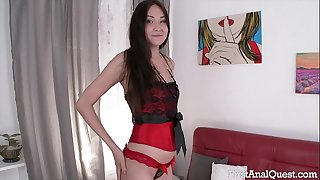 FIRSTANALQUEST.COM - Highly first TIME ANAL PORN WITH THE YOUNG & SEXY ALISA KIM