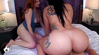 Mom and Sister's Big Juicy Asses -Mandy Muse and Girl Fyre Trailer