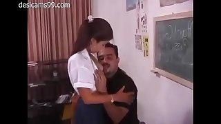 Indian Teacher Teach Sex