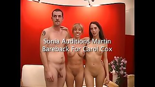 Sonia Sux Auditions A New Young Stud For Carol Cox