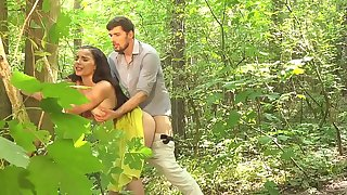 Dane Jones Blowjob and outdoor sex in a summer sundress and kitchen quickie