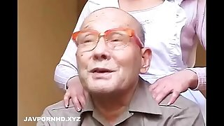 Unsatisfied Japanese fucking father and schlong in law