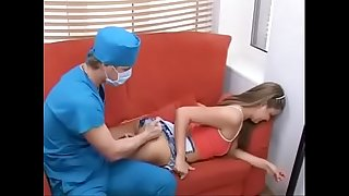 doctor has horny plans with teen patient